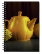 Lemon Yellow Spiral Notebook