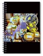 Lemons And Blue Spiral Notebook