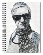 Lena Noble, Portrait Spiral Notebook