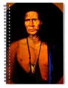 Lenape Chief Spiral Notebook