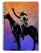 Lenape Indian Chief Spiral Notebook