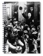 Lenin At Finland Station Spiral Notebook