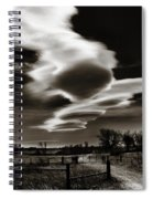 Lenticular Clouds Of Colorado Spiral Notebook
