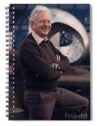 Leon Lederman, American Physicist Spiral Notebook