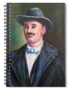 Leonard Mckay Spiral Notebook