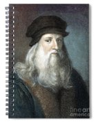 Leonardo Da Vinci - To License For Professional Use Visit Granger.com Spiral Notebook