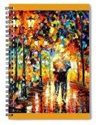 Leonid Afremov 129 Leonid Afremov Spiral Notebook