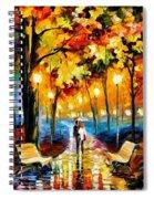 Leonid Afremov 148 Leonid Afremov Spiral Notebook