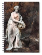 Leonor - Textured Version  Spiral Notebook
