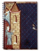 Leper House, C1220-1244 Spiral Notebook