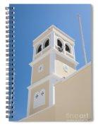 Lerapetra Church Steeple Spiral Notebook