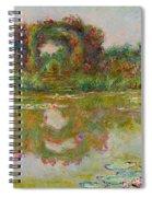 Les Arceaux De Roses. Giverny Spiral Notebook
