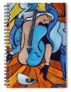 Les Chats Bleus Spiral Notebook