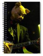 Les Claypool Of Primus Spiral Notebook