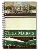 Les Deux Magots - #1 Spiral Notebook
