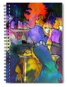 Les Filles Du Cafe De La Nuit Spiral Notebook
