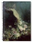 Les Fleurs Du Sommeil Spiral Notebook