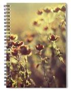 Les Larmes Dautomne Spiral Notebook