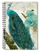 Les Paons Spiral Notebook