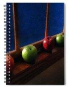 Les Pommes De La Lune Spiral Notebook