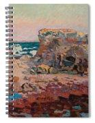 Les Rochers A Saint Palais Spiral Notebook