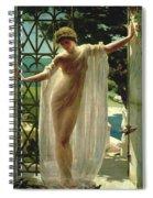 Lesbia Spiral Notebook