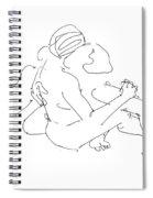 Lesbian Art 2 Spiral Notebook