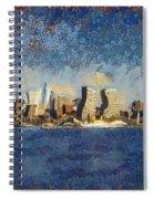 Less Wacky Philly Skyline Spiral Notebook