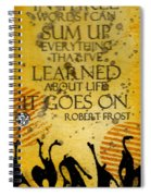 Lessons Learned Spiral Notebook