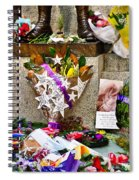 Lest We Forget Messages Spiral Notebook