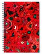 Lest We Forget Spiral Notebook
