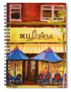 Lesters Cafe Spiral Notebook