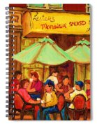 Lesters Monsieur Smoked Meat Spiral Notebook