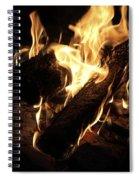 Let It Burn Spiral Notebook