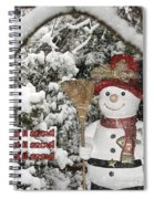 Let It Snow Let It Snow Let It Snow Spiral Notebook