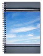 Let The Blue Sky In Spiral Notebook