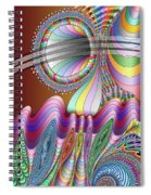 Let The Mystery Be... Spiral Notebook