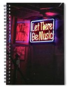 Let There Be Music Spiral Notebook