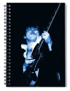 Let There Be Rock And Blues Spiral Notebook