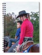 Let Your Babies Grow Up To Be Cowboys Spiral Notebook