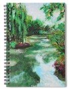 L'etang De Claude Monet, Giverny, France Spiral Notebook