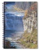 Letchworth Middle Falls Spiral Notebook