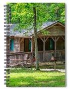 Letchworth State Park Cabin Spiral Notebook