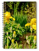 Let's Dance. Yellow. Spiral Notebook
