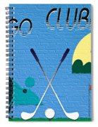 Let's Go Clubbing Spiral Notebook