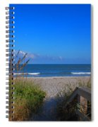 Lets Go To The Beach Spiral Notebook