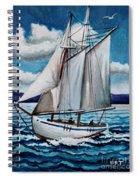 Let's Set Sail Spiral Notebook