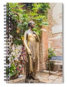 Letters To Juliet Spiral Notebook