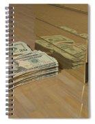 Level One Money Manifestation  Spiral Notebook