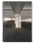 Levels Of A Parking Structure Spiral Notebook